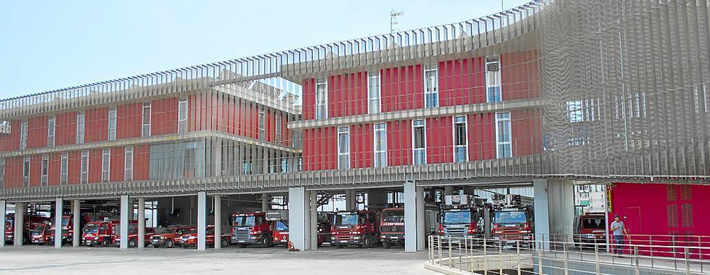 Parque de bomberos de Palma de Mallorca
