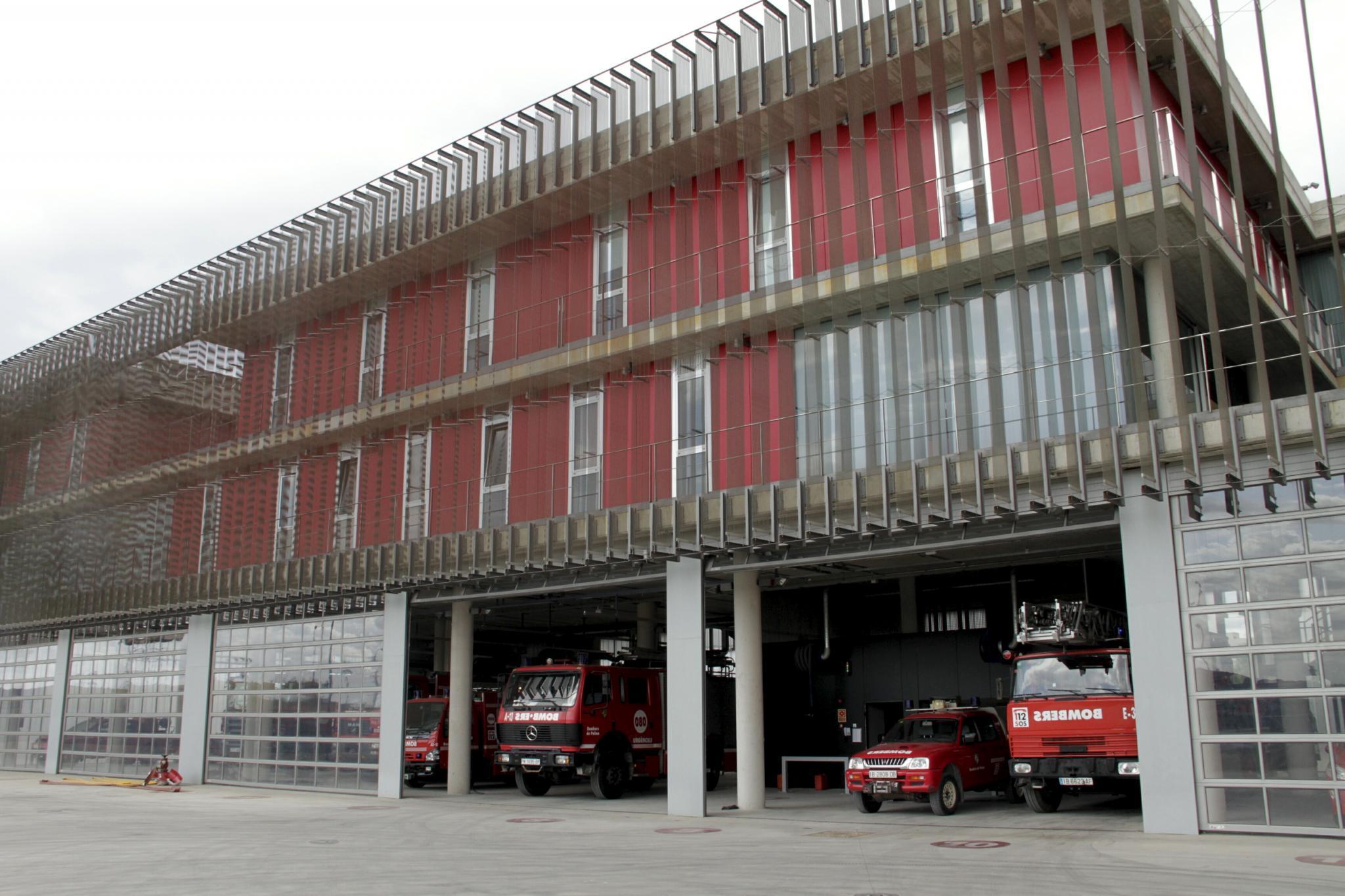 Parque de bomberos de Palma de Mallorca Instalaciones