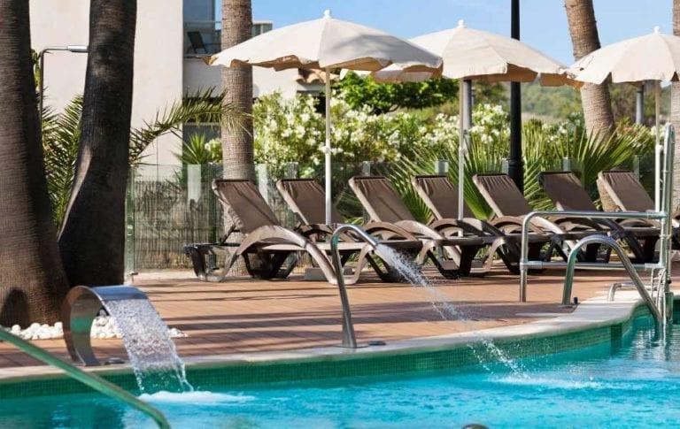 hotel roc boccaccio instalaciones exteriores