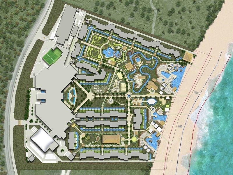 planet hollywood beach resort instalaciones