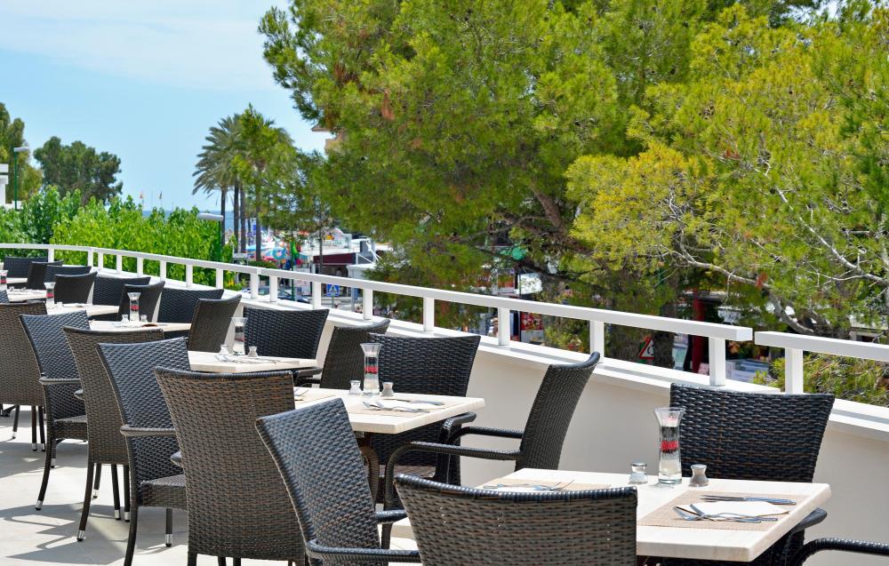 sol alcudia center instalaciones restaurante