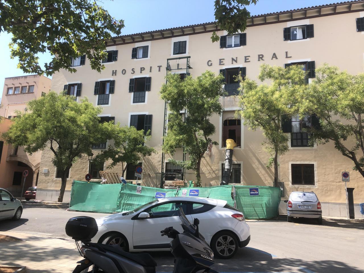 Hospital general Mallorca obras instalaciones