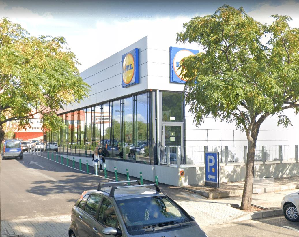 proyecto instalaciones supermercado lidl